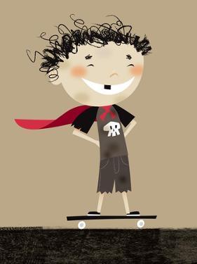 Teenage superhero by Harry Briggs
