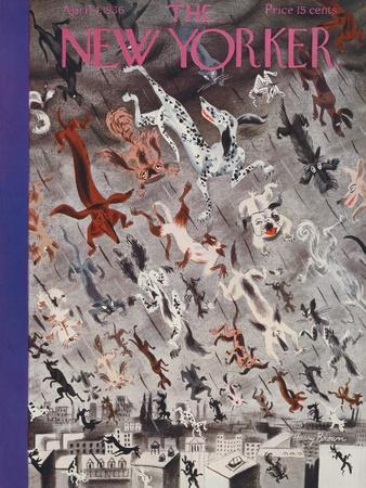 The New Yorker Cover - April 4, 1936