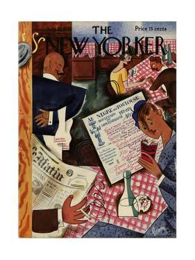 The New Yorker Cover - August 20, 1932 by Harry Brown