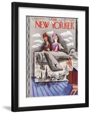 The New Yorker Cover - August 31, 1935 by Harry Brown