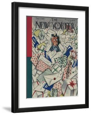 The New Yorker Cover - December 17, 1932 by Harry Brown