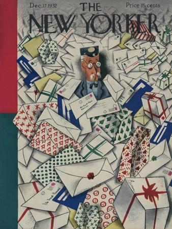 The New Yorker Cover - December 17, 1932