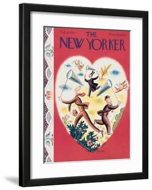 The New Yorker Cover - February 10, 1934 by Harry Brown