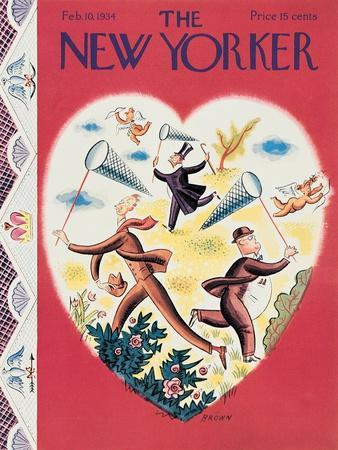 The New Yorker Cover - February 10, 1934