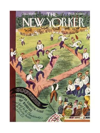 The New Yorker Cover - June 10, 1933 by Harry Brown