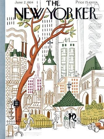 The New Yorker Cover - June 2, 1934
