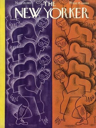 The New Yorker Cover - November 28, 1931