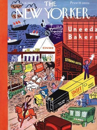 The New Yorker Cover - September 16, 1933