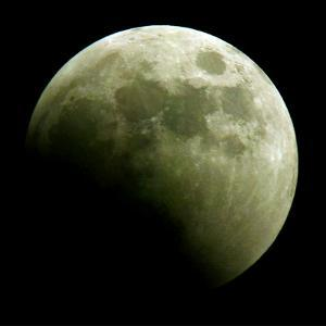 Lunar Eclipse by Harry Cabluck