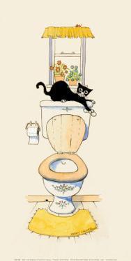 Basil in the Bathroom III by Harry Caunce