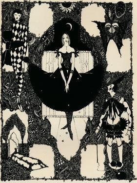 Columbine, C 1900-1930, (1925) by Harry Clarke