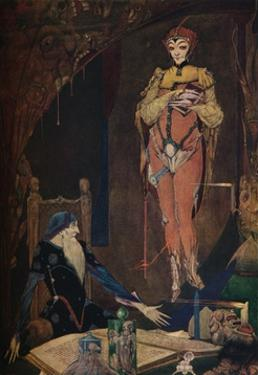 'Faust Illustration', 1925 by Harry Clarke