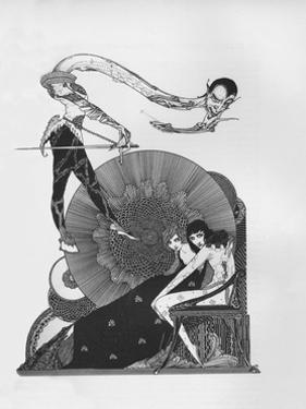 'Half-Title of Goethe's Faust', 1925 by Harry Clarke