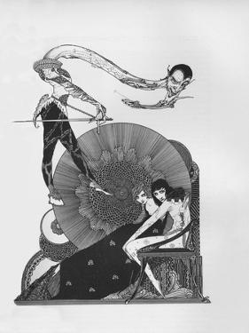 'Half-Title of Goethe's Faust', 1925 by Harry Clarke