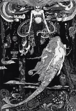 I Know What You Want' Said the Sea Witch by Harry Clarke