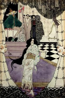 Illustration from the Little Mermaid, 1914 by Harry Clarke