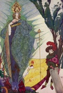 Kay Meets the Snow Queen by Harry Clarke