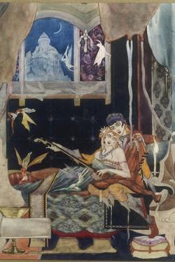 La belle Dame sans Merci, 1915 by Harry Clarke