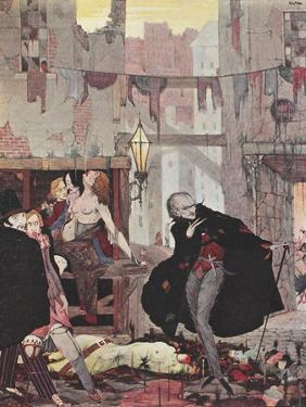 Man Of the Crowd by Harry Clarke