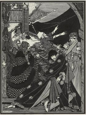 Message Found in a Bottle, 1918 (Pencil, Pen and Black Ink, on Vellum) by Harry Clarke