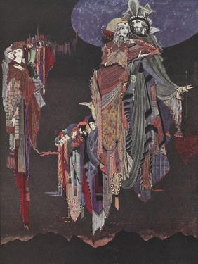 Monas and Una by Harry Clarke