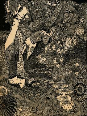 'Morella', c1920 by Harry Clarke