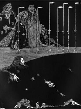 Poe, Tales, Pit and Pendulum by Harry Clarke