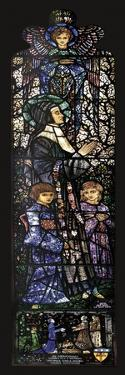 The Blessed Julie with Two Children, 1927 by Harry Clarke