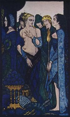 'We Named Lucrezia Crivelli and Titian's Lady', c1910 by Harry Clarke