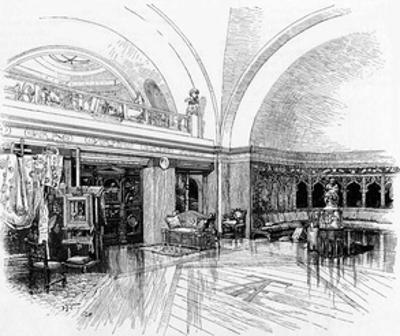 Alma-Tadema, Studio