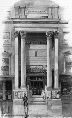 Exeter Hall, London, 1901