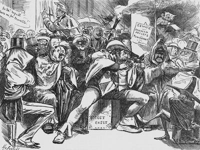 Secret Meeting of the Conservative Party, 1888