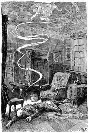 The Death of Mr Tulkinghorn, 1912