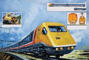 Intercity 125 by Harry Green