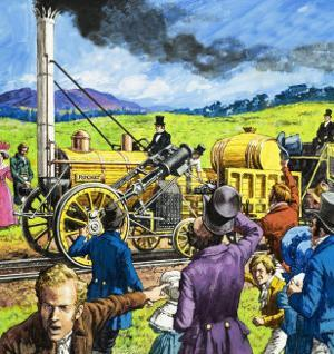 Stephenson's Rocket by Harry Green