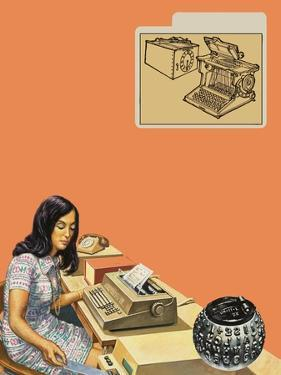 Typewriters by Harry Green