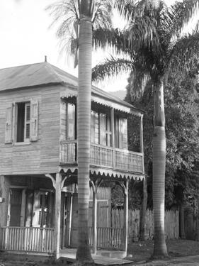 A House in Port Au Prince, 1908-09 by Harry Hamilton Johnston
