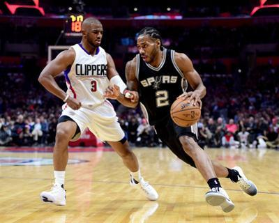 San Antonio Spurs v Los Angeles Clippers by Harry How