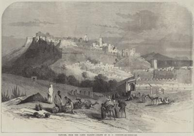 Tangier, from the Camel Market