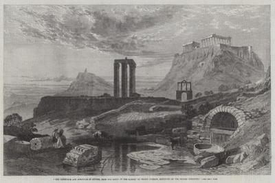 The Olympaeum and Acropolis of Athens