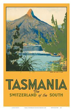 Tasmania - The Switzerland of the South - Mount Ida, Lake St. Clair by Harry Kelly