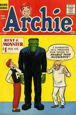 Archie Comics Retro: Archie Comic Book Cover No.125 (Aged)