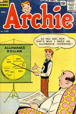 Archie Comics Retro: Archie Comic Book Cover No.132 (Aged) by Harry Lucey