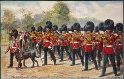 The Band of the Irish Guards March Through Hyde Park by Harry Payne