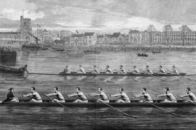 The Boat Race, Ready to Start by Harry Payne