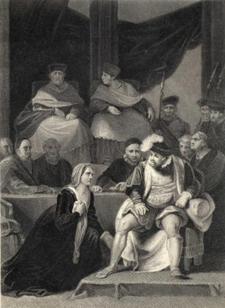 The Trial of the Marriage Between Henry VIII and Catherine of Aragon by Harry Payne