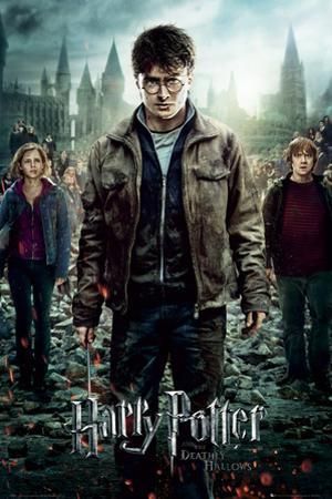 Harry Potter 7-Part 2 One Sheet