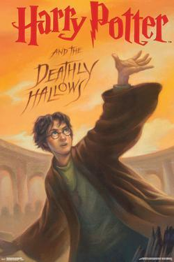 Harry Potter And The Deathly Hallows- Book Art Cover