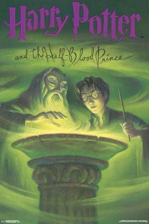 Harry Potter And The Half Blood Prince- Book Art Cover