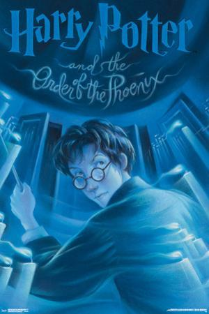 Harry Potter And The Order Of The Phoenix- Book Art Cover